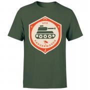Der Panzerwagen Men's T-Shirt - L - Forest Green