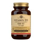 Vitamina d3 600ui suplemento alimentar 60cápsulas - Solgar