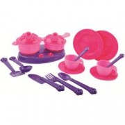 Accesorii bucatarie copii 18 piese Princess Maya and Friends Ucar Toys UC142 B39016945