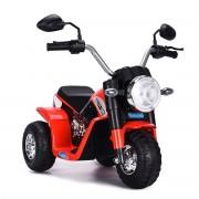 Costway Moto Electrique pour Enfants 20W à partir de 3 à 8 Ans Moto Véhicule 6V Charge max. 20KG Rouge