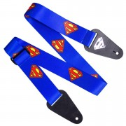 Access All Areas Correa de Guitarra Superman Logo - Tela