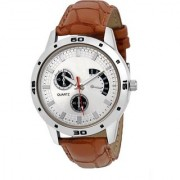 true choice new super fast selling Latest Fashionable White Designer New Look Stylish Titanium 001 Mens Watch Watch - For Boys 6 month warranty