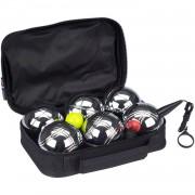 Get & Go jeu de boules set V 11-delig zilver
