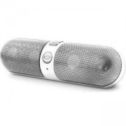 Безжичен Bluetooth високоговорител с вградено FM радио Esperanza, Бял/Сив, EP118WS