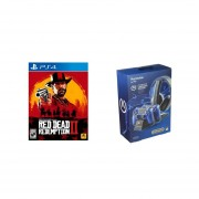 Red Dead Redemption 2 Ps4 + PowerA Cargador Completo PS4