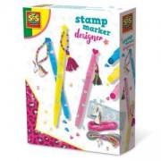 Детски комплект направи си сам Дизайнерски маркери SES, 0800104