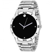 True Colors New Exclusive Black Dial Sliver Stainless Steel chain 2215 Watch - For Men