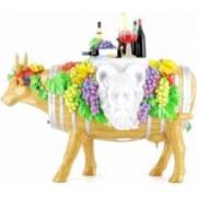 Obiect Decorativ Personalizat Vacuta In Vino Veritas Cadou Deosebit Glumet Amuzant Hazliu