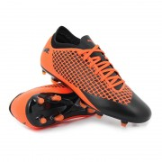 Puma future 2.4 fg/ag shocking orange uprising pack - Scarpe da calc