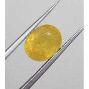 Lab Certified Birthstone Yellow Sapphire(Pukhraj)