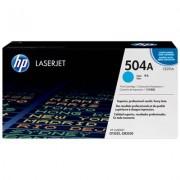 HP 504A cyan LaserJet-tonerkassett, original