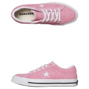 Converse Mens One Star Suede Shoe Light Orchid Light Orchid