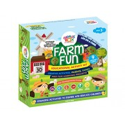 Genius Box Learning Toys for Children - Farm Fun Activity Kit, Multi Color