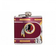 Great American Products Stainless Steel NFL Team Flasks Washington Redskins Gray