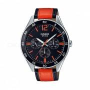 Casio MTP-E310L-1A2VDF reloj analogico - plata / negro / rojo (sin caja)