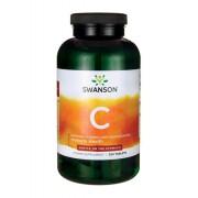 Witamina C Buforowana L-Askorbinian Wapnia Z Bioflawonoidami Buffered C With Bioflavonoids 1000mg 250 Tabletek Swanson