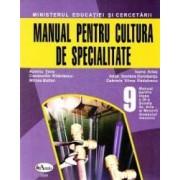Cultura de specialitate - Clasa 9. Manual - Scoala de Arte si Meserii domeniul mecanic - Aureliu Tone