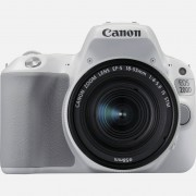 Canon EOS 200D blanc + objectif EF-S 18-55mm f/4-5.6 IS STM argent