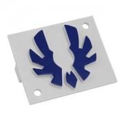Emblema albastru inchis Bitfenix pentru carcasa Shinobi