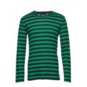 MADS NØRGAARD Midi Rib Tobias Long T-shirts Long-sleeved Grön MADS NØRGAARD