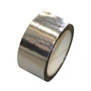 Banda adeziva din aluminiu pentru lipirea foliilor aluminizate 50 m 50 mm