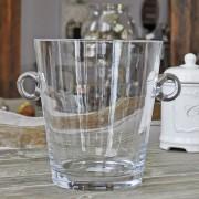Seau à glace en verre 18x20 cm