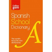 Collins Gem Spanish School Dictionary, Paperback