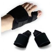 2pcs Soft Bunion Corrector Toe Separator Splint Correction System Medical Device Hallux Valgus Foot Care Pedicure Orthot