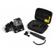 Kitvision Action Camera Starter Kit - комплект калъф за GoPro и екшън камери, нагръдник (ремък за рамена) и монопод (селфи стик)