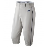 New Balance Men's Charge Baseball Piped Knicker Grey with Navy