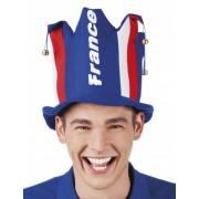 Sombrero hincha con cascabeles Francia adulto Única
