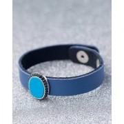 Dare by Voylla CZ Studded Milestone Leather Bracelet