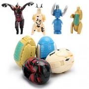 Egg Deformation Mini Dolls Toys Altman Monster Dinosaur Eggs Deformed Toys for Baby Kids Christmas Gifts Ran