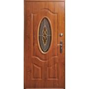 Drzwi stalowe z przeszkleniem TENERYFA