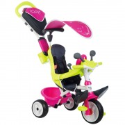Tricicleta Baby Driver Comfort Pink