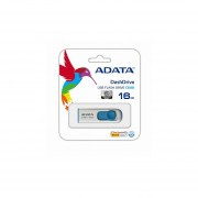 Memoria Flash USB Adata C008 (AC008-16G-RWE) 16GB Retráctil-Blanco
