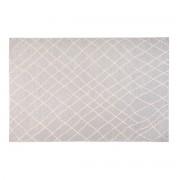 Miliboo Tapis gris clair polypropylène 160x230 FLOW