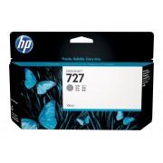 HP Cartucho de Tinta Original HP 727 de 130 ml B3P24A Gris para DesignJet T1500, T1530, T2500, T2530, T920, T930