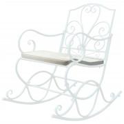 Polsterauflage für Schaukelstuhl HWC-C39, Schaukelstuhlauflage Sitzkissen Sitzpolster, creme ~ Variantenangebot