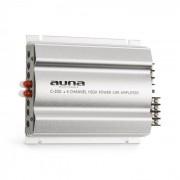 C300.4 4-Kanal-Verstärker Auto-Endstufe 4 x 200 W Musik-Leistung / 4 x 100 W RMS 2-Band-Equalizer
