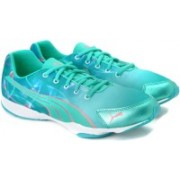 Puma Flx Graphic Wn'S Running Shoes For Women(Green, Blue)