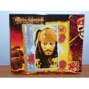Disney Pirates Of The Caribbean Puzzle (Captain Jack Sparrow)