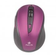 NGS Evo Ratón Wireless Púrpura