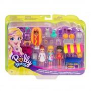 Polly Pocket Set de juego Polly Pocket Mattel Carritos Moda Snacks