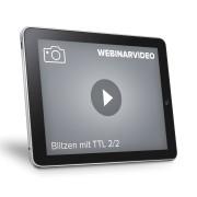 FRANZIS.de (ausgenommen sind Bücher und E-Books) Webinarvideo: Blitzen mit TTL - 2. Teil