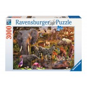 PUZZLE ANIMALE DIN AFRICA, 3000 PIESE - RAVENSBURGER (RVSPA17037)