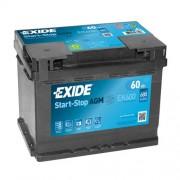 Akumulator za automobil Exide AGM START STOP 12V60AH D+ EK600 ( D52 )