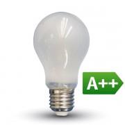 LAMPADINA LED E27 FIL. SATINATA 9W BIANCO NATURALE VT-2049-LED7185