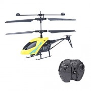 Fancyku Infrared Control Flying Helicopter with Remote Controller with Unbreakable Blades Infrared Sensor Helicopter Toys for Kids