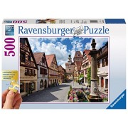 Ravensburger Puzzles Rothenburg - Germany, Multi Color (500 Pieces Gold Edition)